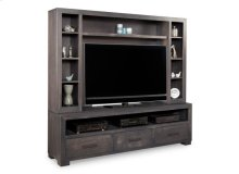 Steel City HDTV Unit w/ Hutch with 54'' TV Opening