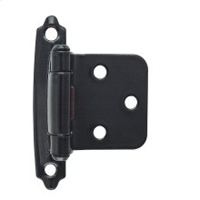 Self-closing, Face Mount Variable Overlay Hinge