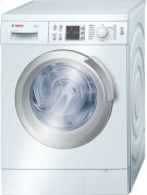 "Serie  8 24"" Compact Washer Axxis Plus - White WAS24460UC Product Image"