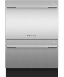 Double DishDrawer Dishwasher, 14 Place Settings, Sanitize (Tall)
