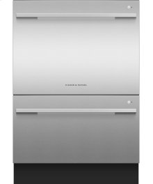Double DishDrawer Dishwasher, 14 Place Settings, Sanitize (Tall)