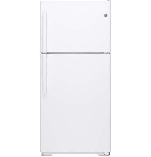 FACTORY BLEM - GE® ENERGY STAR® 18.2 Cu. Ft. Top-Freezer Refrigerator