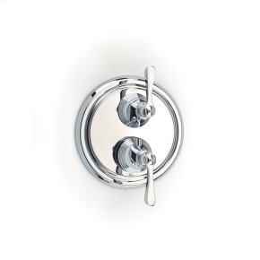 Dual Control Thermostatic with Diverter and Volume Control Valve Trim Summit (series 11) Polished Chrome