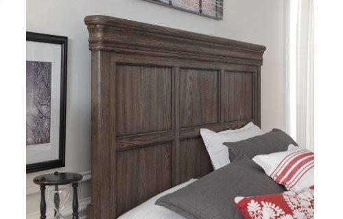 Hartland Hills Complete Panel Bed, King 6/6