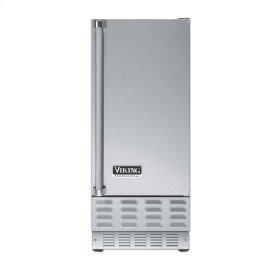 "Stainless Steel 15"" Ice Machine - VUIM (Right Hinge Door)"