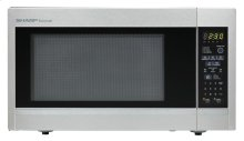 Sharp Carousel Countertop Microwave Oven 1.8 cu. ft. 1100W Stainless Steel Scratch & Dent