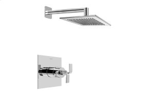 Contemporary Pressure Balancing Shower Set (Rough & Trim)