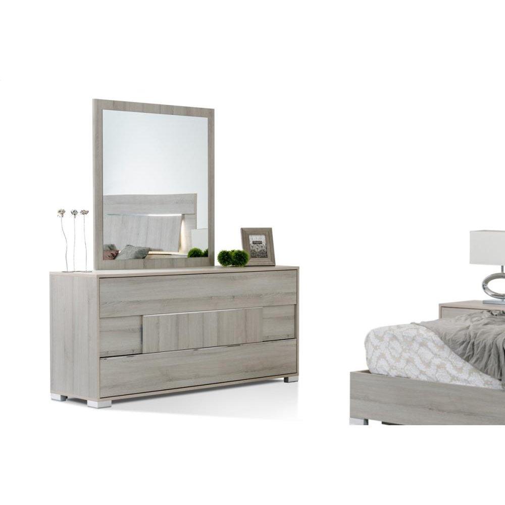 Modrest Ethan Italian Modern Grey Dresser