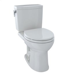 Drake® II Two-Piece Toilet, Round Bowl, 1.0 GPF - Colonial White