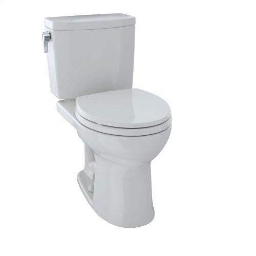 Drake® II Two-Piece Toilet, Round Bowl, 1.0 GPF - Colonial White