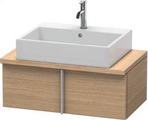 Vero Vanity Unit For Console Compact, European Oak (decor)