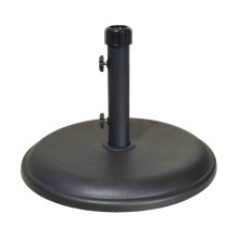 Patio Umbrella Base : 40 lbs Stained Concrete
