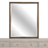 Burley Brown Peninsula Mirror Product Image
