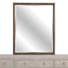 Burley Brown Peninsula Mirror