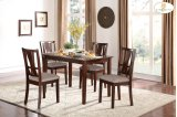 5-Piece Pack Dinette Set Table: 35.25 x 47.25 x 30H Chair: 18 x 19.75 x 38H Product Image