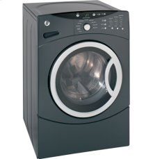 GE® ENERGY STAR® 3.7 IEC Cu. Ft. King-size Capacity Frontload Washer with Stainless Steel Basket
