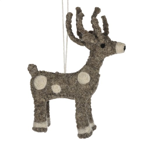 Reindeer Ornament.