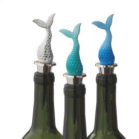Mermaid Tail Bottle Stopper (3 asstd).
