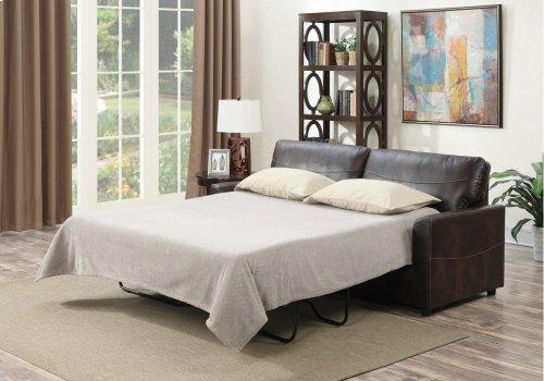 Emerald Home Slumber Queen Sleeper W/gel Foam Mattress Coffee U3215-50-15