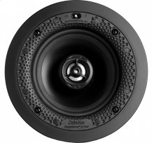 """Disappearing Series Round 5.5"""" In-Wall / In-Ceiling Speaker"""