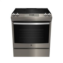 Slide In Front Control Electric 5.3 cu ft Self- Cleaning Range