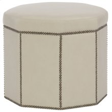 Dolly Ottoman in #6 Antique Brass