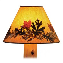 Large Lamp Shade Foliage