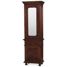 Roosevelt Tall Bath Cabinet w/Mirror