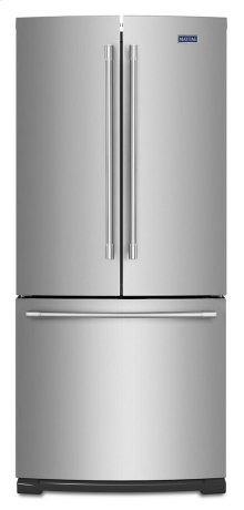 30-Inch Wide French Door Refrigerator - 20 Cu. Ft.