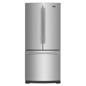 30-Inch Wide French Door Refrigerator - 20 Cu. Ft. - FINGERPRINT RESISTANT STAINLESS STEEL