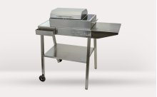 120V Frontier Grill + Cart Package