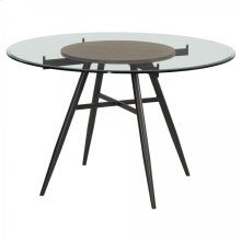 Armen Living Davis Contemporary Round Dining Table