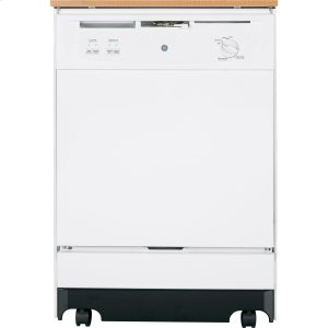GE® Convertible/Portable Dishwasher - WHITE
