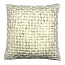 Cozy Feather Cushion White 20x20