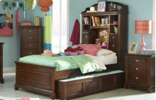 Impressions Bookcase Bed Twin