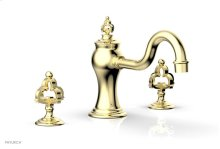 COURONNE Deck Tub Set 163-40 - Polished Brass