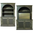 ITEM - 340-700 Arched bookcase with TV cabinet 340-700 Product Image