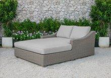 Renava Pismo Outdoor Beige Wicker Sunbed