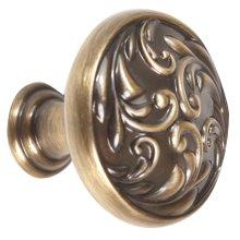 Ornate Knob A3651-14 - Antique English