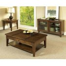 Walnut 3 Pack - Cocktail Table & Two End Tables Product Image