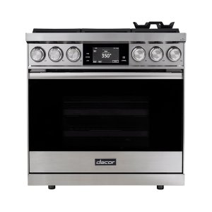 "Dacor36"" Range, Stainless Steel, Liquid Propane/High Altitude"