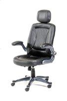 Modrest Principal Modern Black Office Chair w/ Headrest Product Image