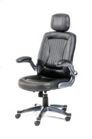 Modrest Principal Modern Black Office Chair w/ Headrest Product Image