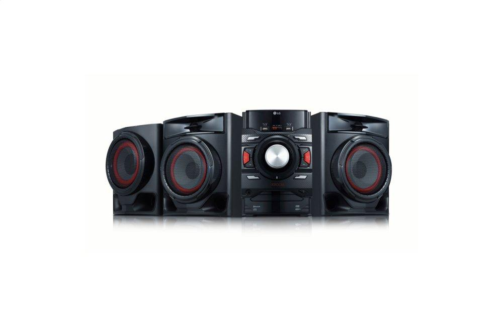 LG XBOOM 700W 2.1ch Mini Shelf System with Subwoofer and Bluetooth(R)