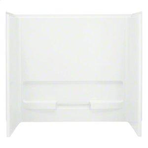"Advantage™, Series 6103, 60"" x 31-1/4"" x 56-1/4"" Bath/Shower - Wall Set - White Product Image"