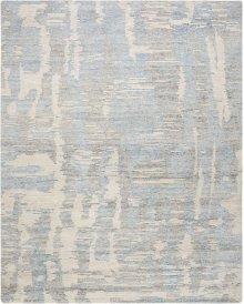 Ellora Ell01 Blue Rectangle Rug 7'9'' X 9'9''