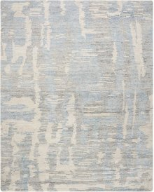 Ellora Ell01 Blue Rectangle Rug 7'9'' X 9'9''