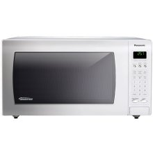 1.6 Cu. Ft. Countertop Microwave Oven with Inverter Technology - White - NN-H765WF
