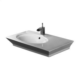 """Opulence 31-1/2"""" Above Counter Basin - """"Hers"""" - White"""