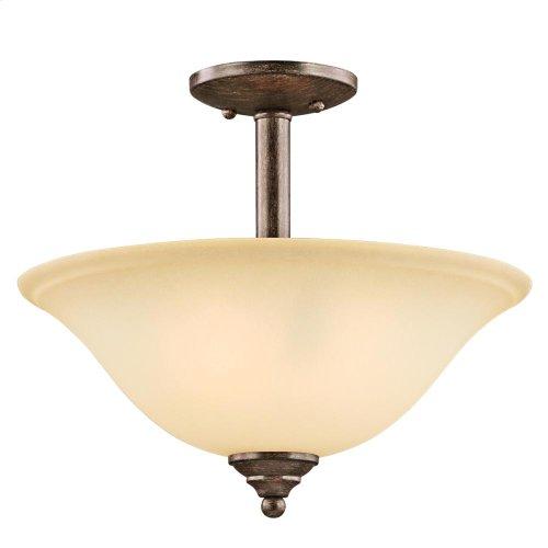 Armida Collection Armida 2 Light Semi Flush/Inverted Pendant OZ